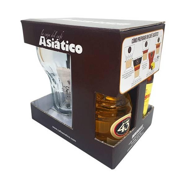 TROUSSE DÉCORÉ CAFÉ ASIATIQUE - 1 VERRE