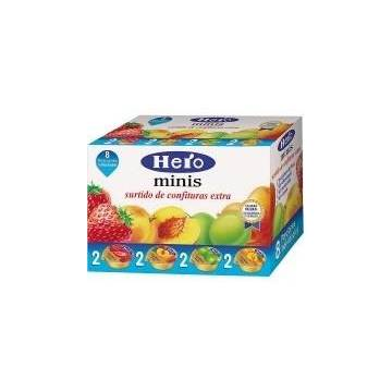 "ASSORTMENT OF JAM IN SINGLE PORTIONS ""HERO"""