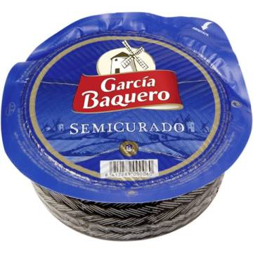 "SEMI-CURED CHEESE 465G ""GARCIA BAQUERO"""