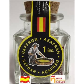 """AZAFRÁN DE PELO ESPAÑOL  """"SALSAFRAN"""" 1G"""