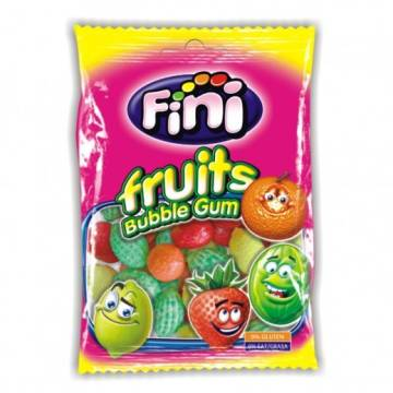 "FRUITS BUBBLE GUM ""FINI"""