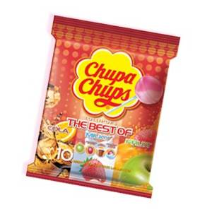 "CARAMELOS CON PALO SURTIDOS THE BEST OF ""CHUPA CHUPS"""