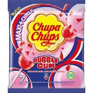 """LOLLIPOP - BUBBLE GUM """"CHUPA CHUPS"""""""
