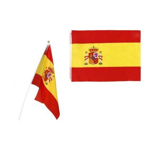 KLEINE SPANISCHE FLAGGE MIT MAST