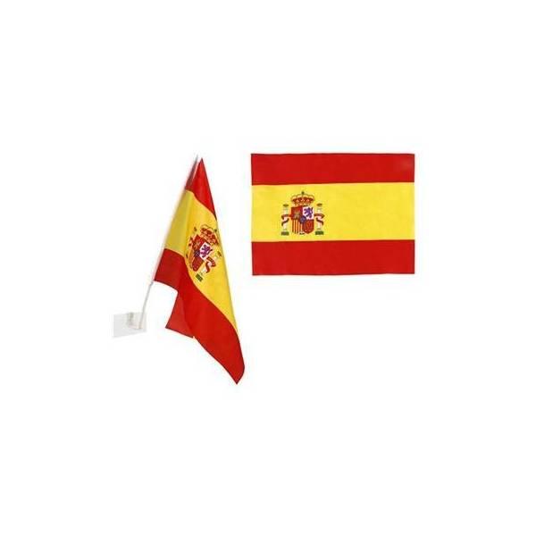 SMALL SPANISH FLAG FOR CAR
