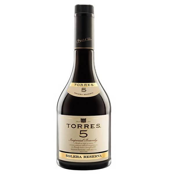 "BRANDY IMPERIAL ""TORRES"" 5 – 70 CL"