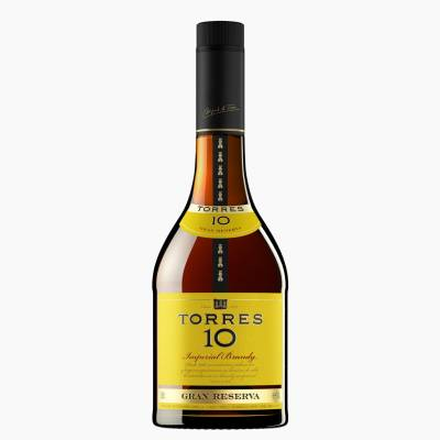 "BRANDY IMPERIAL ""TORRES"" 10 – 70 CL"
