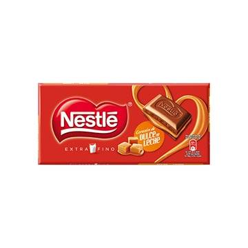 "CHOCOLATE FILLED WITH CARAMEL ""NESTLÉ"""