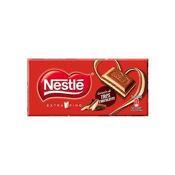 "THREE CHOCOLATES ""NESTLÉ"""