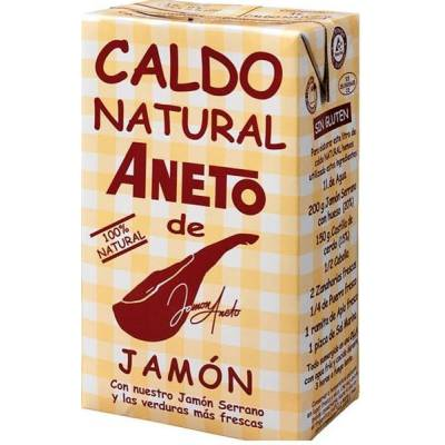 "CALDO NATURAL DE JAMÓN ""ANETO"" 100% NATURAL 1 LITRO"