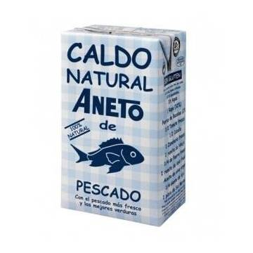 NATURAL FISH BROTH 1L ANETO