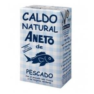 Caldo natural de pescado ANETO 1l.