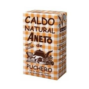 CALDO NATURAL DE PUCHERO ANETO 100% NATURAL 1 LITRO