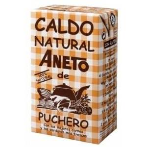 CALDO NATURAL DE PUCHERO 1L ANETO