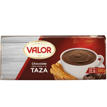 CHOCOLATE FOR HOT CHOCOLATE 300G VALOR