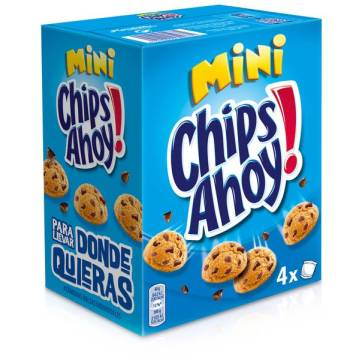 "GALLETAS MINI CHIPS AHOY! ""MONDELEZ"" (160 G)"