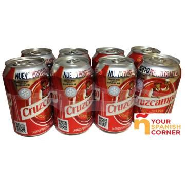 "BEER PACK 8 ""CRUZCAMPO"""