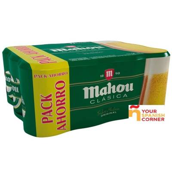 "CLASSICAL BEER PACK 12 ""MAHOU"""
