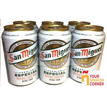 "BEER PACK 6 ""SAN MIGUEL"""