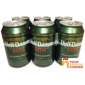 "BEER PACK 6 ""VOLL-DAMM"""