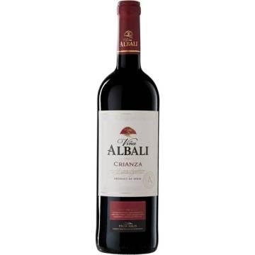 VIÑA ALBALI Rotwein Crianza -D.O. Valdepeñas- (75 cl)