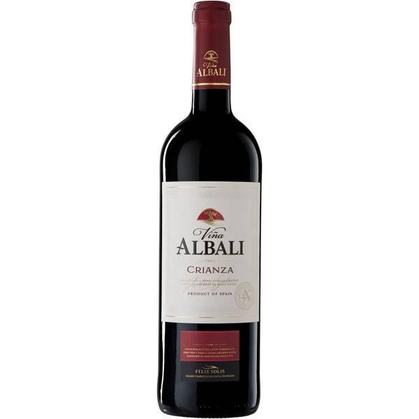 VIÑA ALBALI Rotwein Crianza Herkunftsbezeichnung Valdepeñas Flasche 75 cl