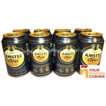 "CERVEZA ORO PACK 8 ""AMSTEL"""