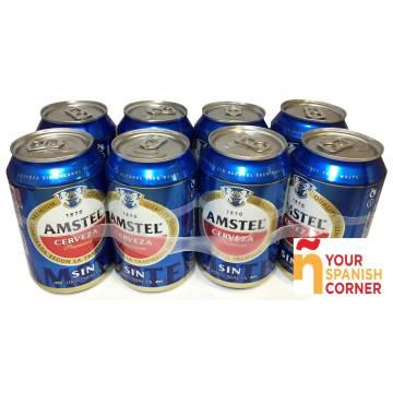 "BIER OHNE ALKOHOL PACK 8 ""AMSTEL"""