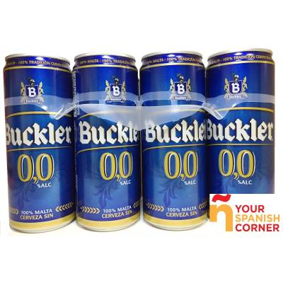 "BEER 0,0 WITHOUT ALCOHOL PACK 8 ""BUCKLER"""