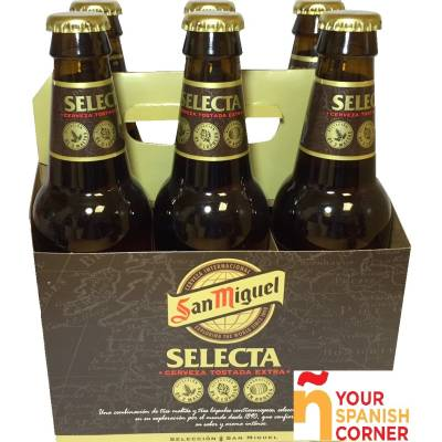 "SELECTED BEER PACK 6 ""SAN MIGUEL"""