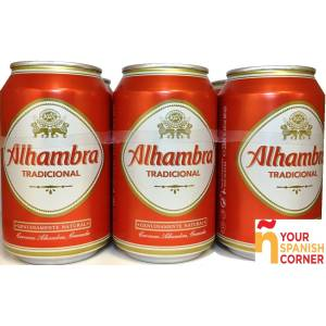 "BIER PACK 6 ""ALHAMBRA"""
