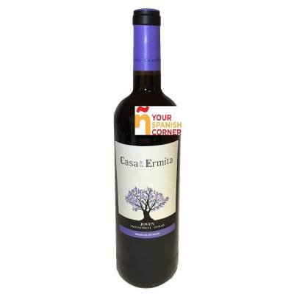 CASA ERMITA young red wine -D.O. Jumilla- (75 cl)