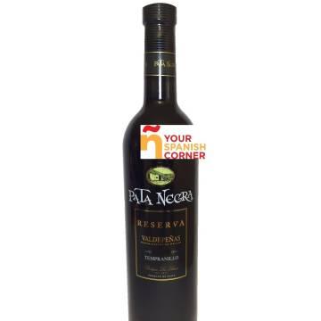 PATA NEGRA vino tinto tempranillo reserva -D.O. Valdepeñas- (75 cl)