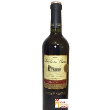 SEÑORÍO DE LOS LLANOS vino tinto crianza -D.O. Valdepeñas- (75 cl)