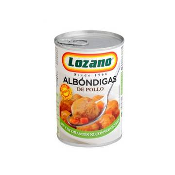 "CHICKEN MEATBALLS ""LOZANO"""