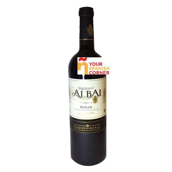 CASTILLO DE ALBAI vino tinto crianza -D.O. Rioja- (75 cl)