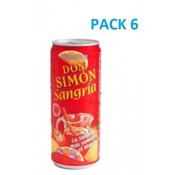 DON SIMÓN Sangría (lata pack 6)