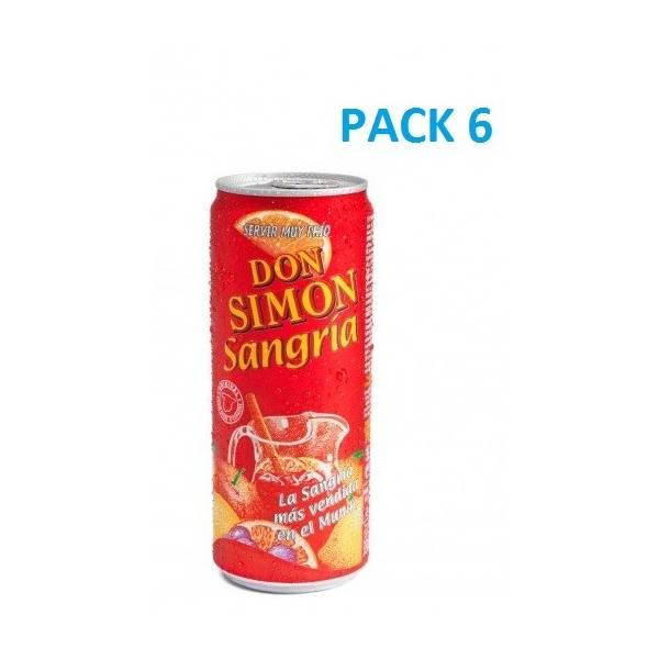 DON SIMÓN Sangría (pack 6)