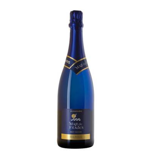 MAR DE FRADES vino blanco espumoso Brut Nature -D.O. Rias Baixas- (75 cl)