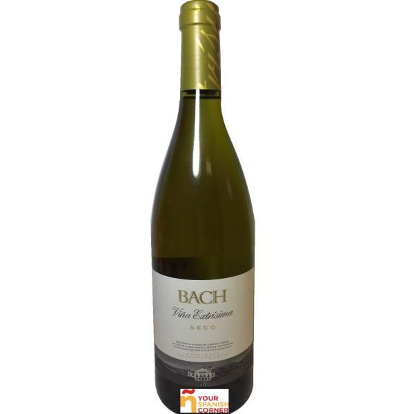 BACH vino blanco seco -D.O. Penedés- (75 cl)