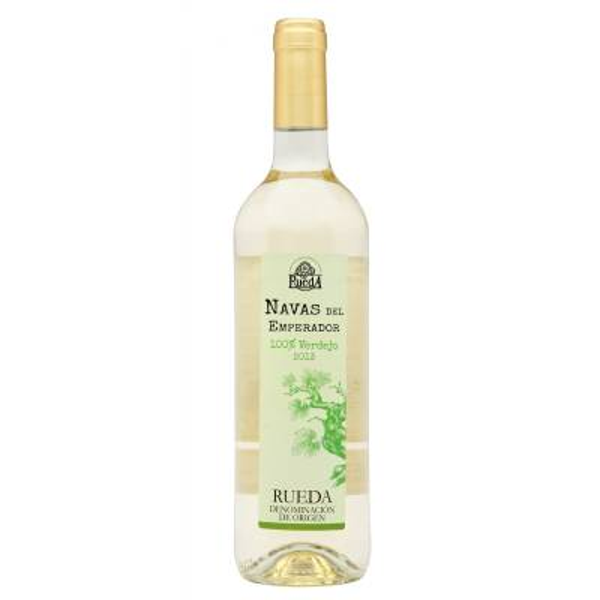 NAVAS DEL EMPERADOR vino blanco Verdejo - D.O. Rueda- (75 cl)