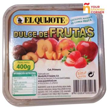 "DULCE DE FRUTAS (SWEET FRUIT IN PASTE) ""EL QUIJOTE"""