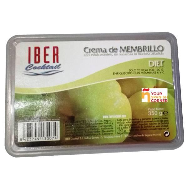 """CREMA DE MEMBRILLO DIETÉTICA """"IBER COCKTAIL"""""""