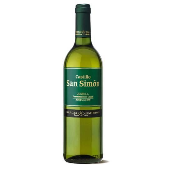 CASTILLO SAN SIMÓN vino blanco -D.O. Junilla- (75 cl)