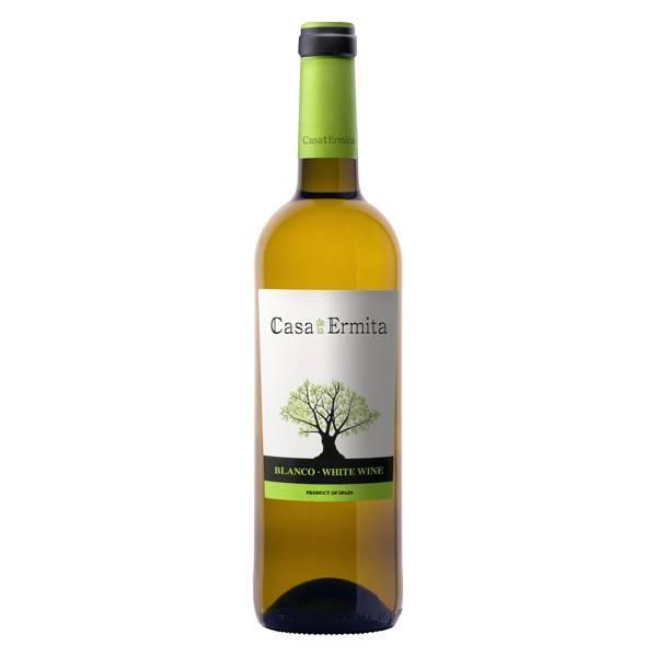 CASA DE LA ERMITA vino blanco -D.O. Junilla- (75 cl)