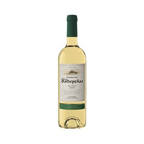 CASTILLO DE SOLDEPEÑAS vino blanco -D.O. Valdepeñas- (75 cl)