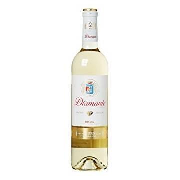 DIAMANTE halb süßen Weißwein-D.O. Rioja- (75 cl)