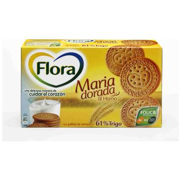 "BISCUITS MARIA GOLDEN ""FLORA"" (400 G)"