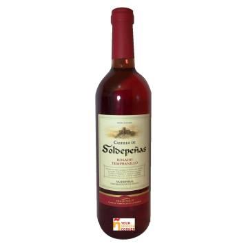 CASTILLO DE SOLDEPEÑAS vino rosado -D.O. Valdepeñas- (75 cl)