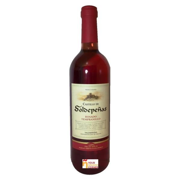 CASTILLO DE SOLDEPEÑAS rosé wine -D.O. Valdepeñas- (75 cl)